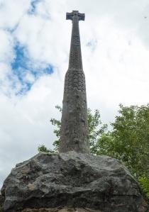 MacDonald Memorial Cross in Glencoe