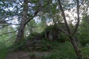 Signal Rock steps